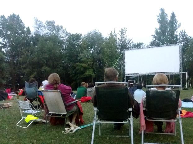 camping activités montagne cinema plein air evenement gresivaudan