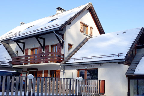 holiday gite french alps three bedrooms ski station shuffle