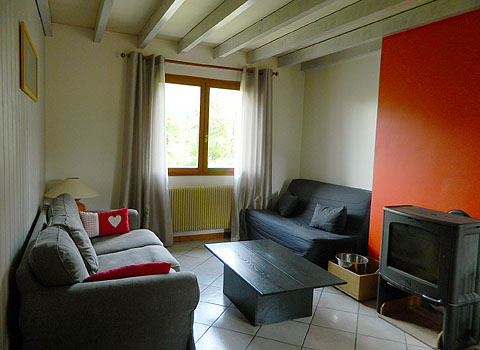 rental gite french alps three bedrooms ski station shuffle
